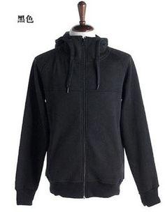 Men New Style Autumn Hood Sports Casual Long Sleeve Black Cotton Hoodie M/L/XL/XXL@X01b