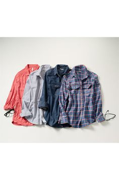 Rubbish® Plaid Cotton Shirt (Juniors) | Nordstrom