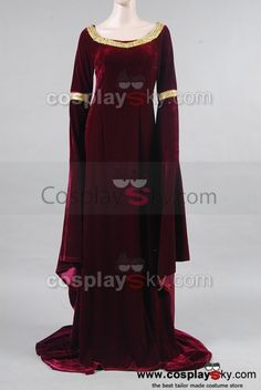 Google Image Result for http://cosplaysky.com/media/catalog/product/cache/1/image/9df78eab33525d08d6e5fb8d27136e95/T/h/The-Lord-of-the-Rings-Arwen-s-Cranberry-Gown-Dress-1.jpg