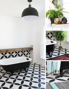 Before & After Makeover, Multiplied: One Bathroom Styled Three Ways — Ashley's Bathroom Renovation: Part 5