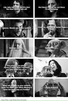 Death Quotes- Harry Potter