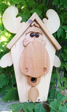 Mr Moose Birdhouse - Shipping Included