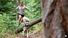 """Thats what I love- just being a barbarian and running through the woods"" Jenn Shelton http://imgzu.com/image/eauO9S"