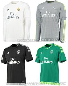 OFICIAL: Equipaciones Home y Away Adidas de Real Madrid 15/16 | Todo Sobre Camisetas