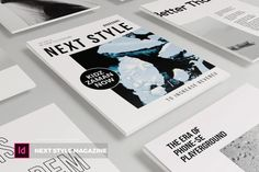 Next Style | Magazine Template by Vunira on Envato Elements Next Fashion, Book Layout, Magazine Template, Templates, Creative, Style, Swag, Stencils, Vorlage