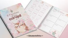 Planner 2020 para Imprimir Grátis - Vários temas prontos para encadernar Planners, Anime Love, Diy And Crafts, Bullet Journal, Floral, Professor, Binder Organization, Planner Decorating, Student Planner Printable