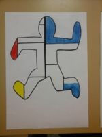 Musette Souricette - Piet Mondrian et Keith Haring Piet Mondrian, Keith Haring Art, Art Projects, Projects To Try, Ecole Art, Art Plastique, Van Gogh, Kitsch, Art Lessons