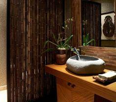 les beaux exemples de salle de bain rustique 40 photos inspirantes archzinefr rustic bathrooms doors and interiors - Idee De Separation Salle De Bain