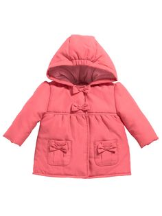 e4384e7d3b59 Ladybird Baby Girls Empire Line Jacket