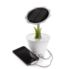 Solar panel flower power - 5.1V 2500mA