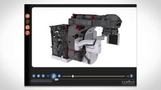 These interactive modules contain photo-realistic 3D models of complex devices, and introduce learners to device design, installation procedures, and service tasks. Topics this detailed are often covered in paper-based product manuals, which can be confusing and insufficient. Each step is thoroughly explained and demonstrated using on screen instructions, audio narration, 3D demonstrations, zooms and highlights.