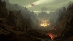 Valley of the Damned by merl1ncz.deviantart.com