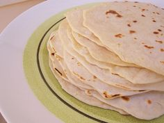Tortillas are traditionally made with lard.