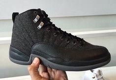 on sale 7c0fd f181f Air Jordan 12 Wool Release Date. The Wool Air Jordan 12 features a Dark Grey,  Metallic Silver and Black color scheme. The Air Jordan 12 Wool release date  is