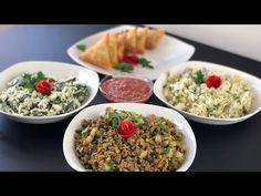 طريقة تحضير ثلاث حشوات للسمبوسه سهله وسريعه Sombosa stuffing - YouTube Freezer Meals, Fried Rice, Food Videos, Fries, Ethnic Recipes, Pastries, Bulgur, Tarts, Freezer Cooking