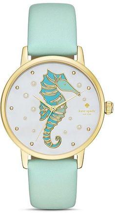 kate spade new york Metro Seahorse Watch, 34mm