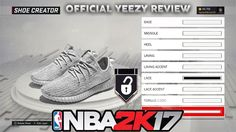 awesome NBA 2K17 YEEZY 's Formal IN Activity Critique ! Thorough Gameplay Best SHOE IN Activity ! Yeezys