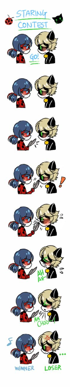 I seriously want Ladybug and Chat Noir to JUDT hang out as best friends. Let Chst cut the puns and flirting and Ladybug would just stick around!