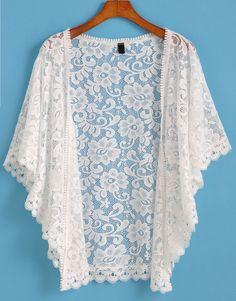 Short Sleeve Lace Top - My Style (organizing) Kimono Fashion, Hijab Fashion, Boho Fashion, Fashion Outfits, Trendy Dresses, Casual Dresses, Short Dresses, Mode Kimono, Short Women Fashion