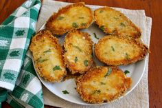 Parmesan Crusted Potatoes :: Fountain Avenue Kitchen