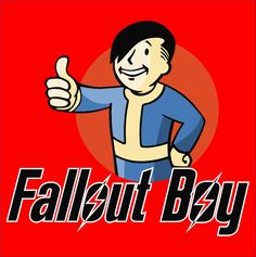 "Fall Out Boy and Pipboy Mash up ""Fallout Boy"" T-Shirt Music Love, Music Is Life, My Music, Fallout 3, Pip Boy, Tom Delonge, Boys T Shirts, Polo Shirts, Gaming"