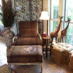 Safari Themed Home Decor Earthy Tones That Reflect The Colors Of African Regions Are