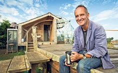 Kevin McCloud's clifftop cabin constructed from cast-offs - Telegraph