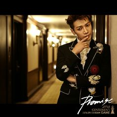 Jun K - for 6th Album of 2PM with title track: Promise [cr. owner]