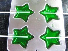 piruletas verdes