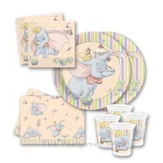 Disney Dumbo - Baby Shower - Party Packs for 10 and 20 Guests