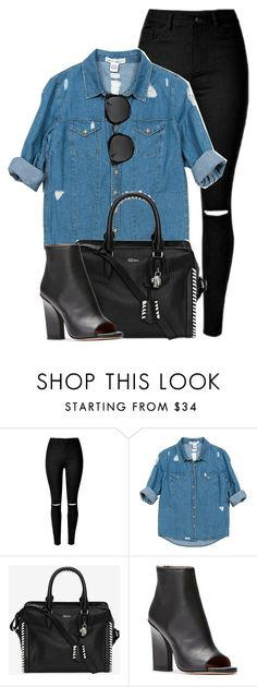 """What I'd Wear"" by monmondefou ❤ liked on Polyvore featuring Sans Souci and Alexander McQueen"