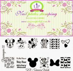 Hot Off The Stamping Press: Universal Polish (UP) Nail Art Stamping Plates!