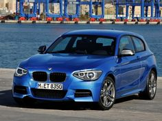 BMW M135i 2013 with central multi-hole injector