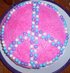 Girls cake, Birthday Cake , Fast and easy cake ! very cute! 8 year old birthday cake