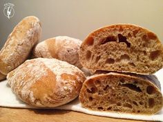 Diabetic Recipes, Diet Recipes, Healthy Recipes, Ciabatta, How To Make Bread, Food And Drink, Paleo, Fitt, Diets
