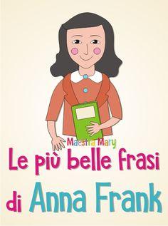 Anne Frank, Anna, School, Books, Handmade Notebook, Libros, Book