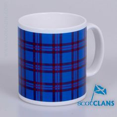 Ceramic mug in Elliot Tartan - from ScotClans