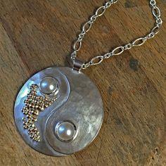 Yin and Yang Pendant by Honeybourne Jewellery