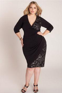 Вечерние платья для полных дам - 100 фото, видео   Галерея женских интересов