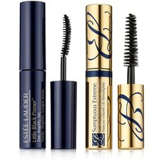 Estee Lauder Amplifying Primer & Bold Lashes Duo Set found on Polyvore featuring beauty products, makeup, eye makeup, false eyelashes, no color, estée lauder and estee lauder eye makeup