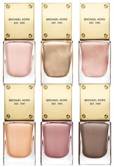 Neutral hues are ALWAYS in style — Michael Kors Sporty Collection nail lacquer