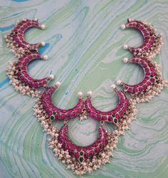Silver Wire Necklace Collar Necklace Indian jewelry-Statement necklace- Hasli-Twisted Style