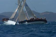Sailing in Sir Francis Drake Channel, BVI, great sailing!
