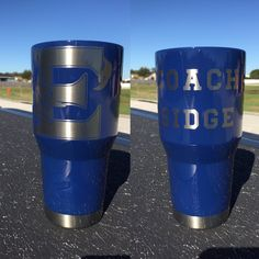 Eustis High School Custom Powder Coated Cups! No Stickers No Vinyl! 100% Powder Coat! Need a Cup, Hit me Up! The Cup Plug!