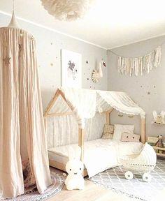 ▷ ideas for baby girl room - Kinderzimmer ♡ Wohnklamotte - BabyZimmer İdeen Baby Bedroom, Baby Room Decor, Nursery Room, Bedroom Decor, Room Baby, Baby Playroom, Girl Nursery, Child Room, Baby Rooms