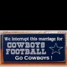 This'll be in my house! Haha go Dallas!!