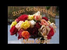 Neues schönes Geburtstagslied ❤️ Alles Gute zum Geburtstag Geburtstagswünsche Neu Susann Schönfeld - YouTube