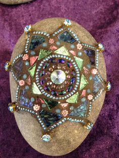 Mosaic Lotus Mandala