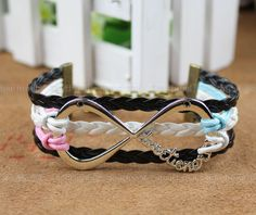 One Direction Infinity Bracelet  forever Directioner by itouchsoul, $7.99
