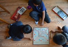 7 Ideas for TV-Free Family Nights